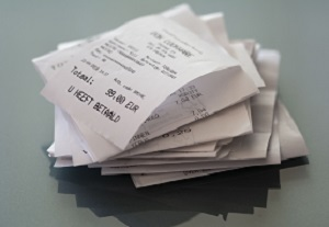 purchased receipts
