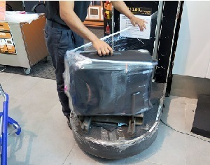 luggage wrapping service